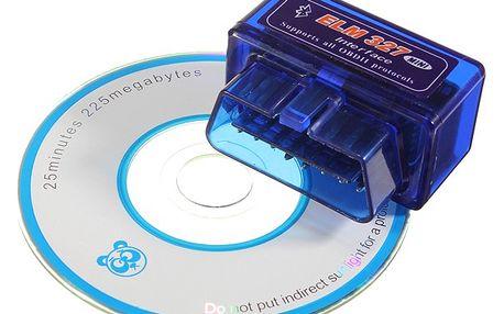 Autodiagnostika bluetooth ELM 327 V 1,5 OBD2 - dodání do 2 dnů
