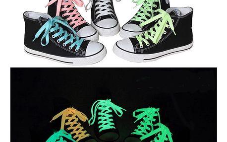 Fluorescenční tkaničky - zelená - dodání do 2 dnů