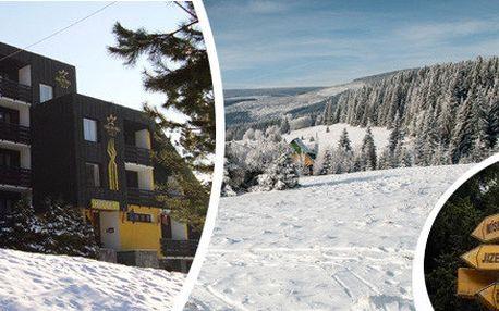 4denní lyžovačka v Krkonoších pro celou rodinu