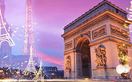 Francie, oblast Paříž, bez stravy na 2 dny