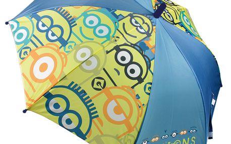 Dětský automatický deštník (48cm) - Mimoni