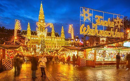 Rakousko, oblast Vídeň, snídaně, ubytování v 4* hotelu na 8 dní