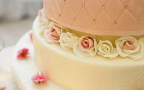 4hodinový kurz potahování a zdobení dortů
