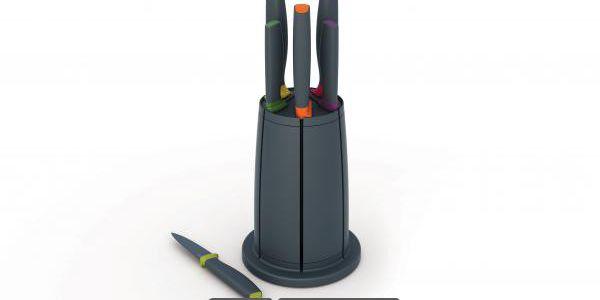 Profesionální sada nožů s otočným magnetickým stojanem!