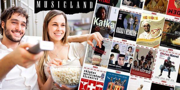 25 českých filmových lahůdek na DVD