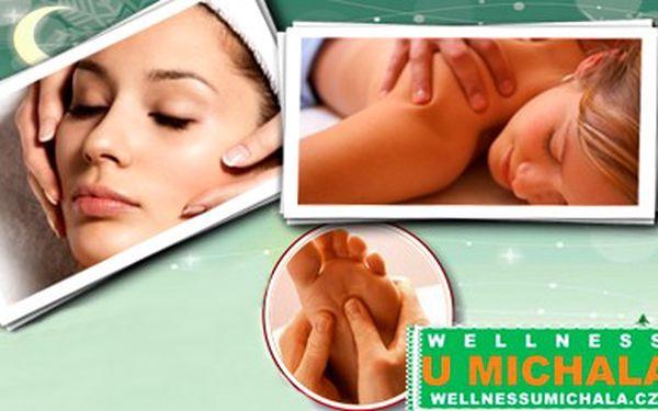 Jen 299 Kč za hodinovou kompletní masáž celého těla ve Wellness U Michala v Plzni. Dokonale zrelaxované tělo i celý pohybový aparát se slevou 43%