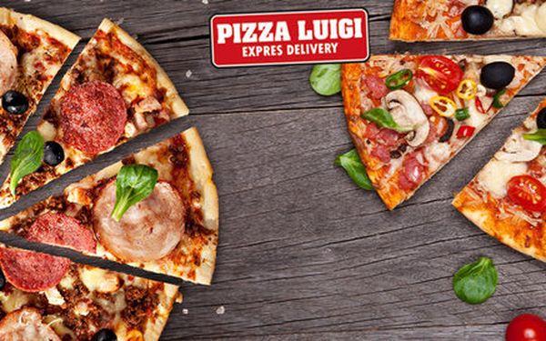 Vyberte si dvě pizzy podle vaší chuti