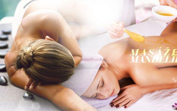 60min. MASÁŽ! Vyberte si: Klasická švédská relaxační, detoxikační medová se zábalem či lávové kameny!