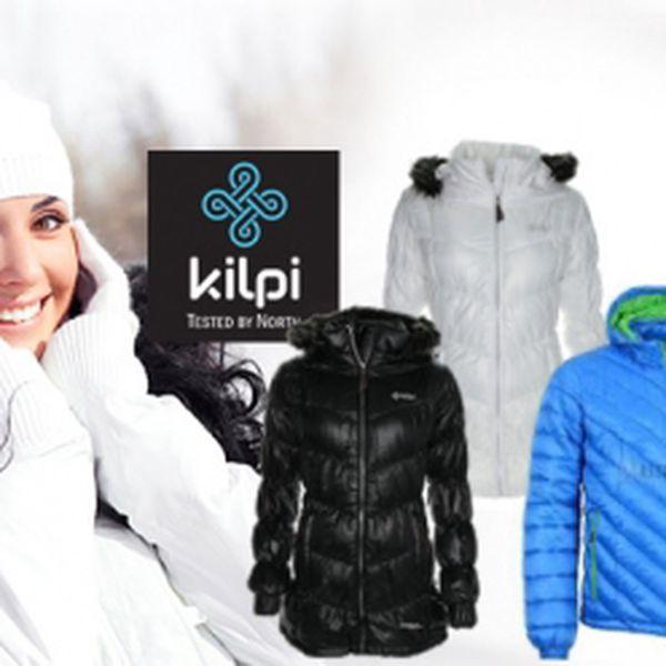 Značkové zimní bundy Kilpi za neuvěřitelné ceny! Pánská nebo dámská bunda pro chladné zimní dny!