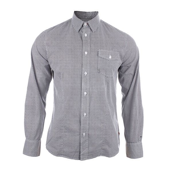 Pánská vzorovaná slim fit košile Big Star