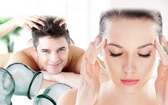 Speciální baňková terapie určená k odstranění migrény! Zbavte se jednou pro vždy nepříjemných bolestí hlavy!