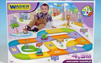 WADER 54010 - Silnice pro děti 4,3 m