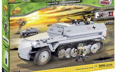 COBI 2442 - Obrněný transportér SD.KFZ. 251 Hanomag z II. svět. vál