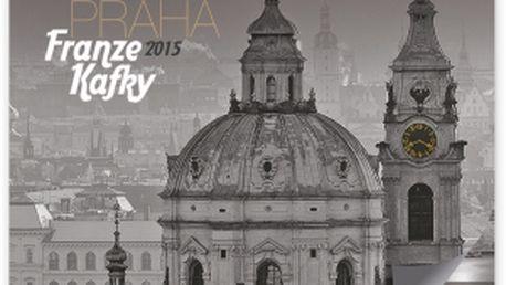 Zlatá Praha Franze Kafky, kalendář 2015, 48 x 46 cm