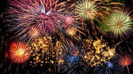 Silvestrovský kompaktní ohňostroj pro úchvatnou oslavu Nového roku
