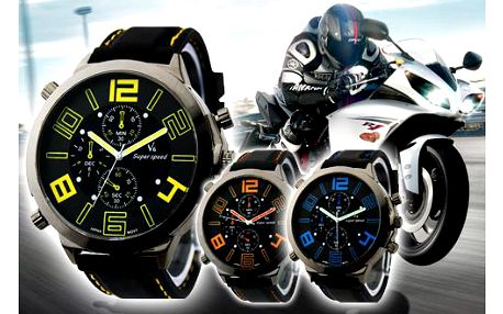 Pánské hodinky SPEED!! Sportovní elegance pro každého muže!!