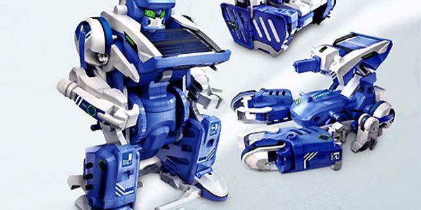 EKO Solární stavebnice 3v1 robot, škorpion, tank!!