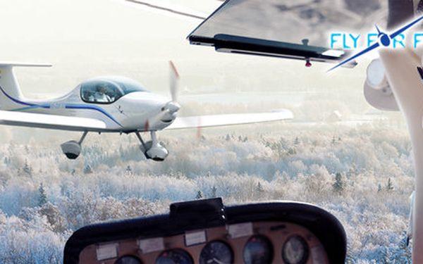 Instruktáž i řízení letadla Zephyr 2000 (20+30 min)