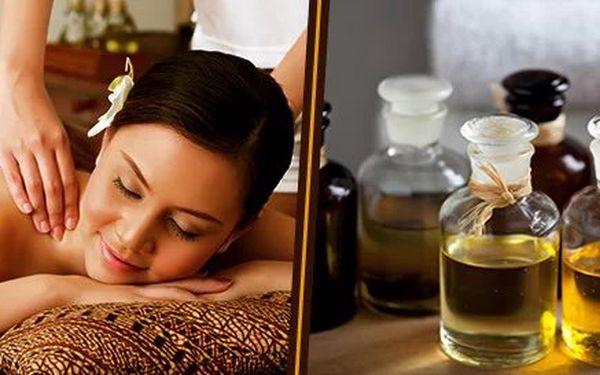 60minutová klasická relaxační masáž