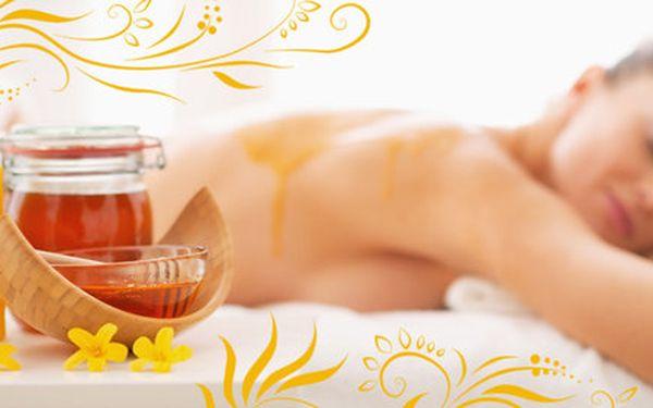Detoxikace medovou masáží (60 minut)