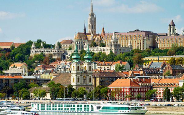 Budapešť pro DVA na 3 dny s plavbou po Dunaji