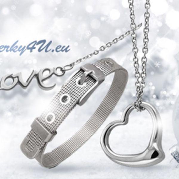 Ocelový náramek nebo řetízek jako krásný dárek! Vyberte si z 5 variant šperků a obdarujte své blízké!