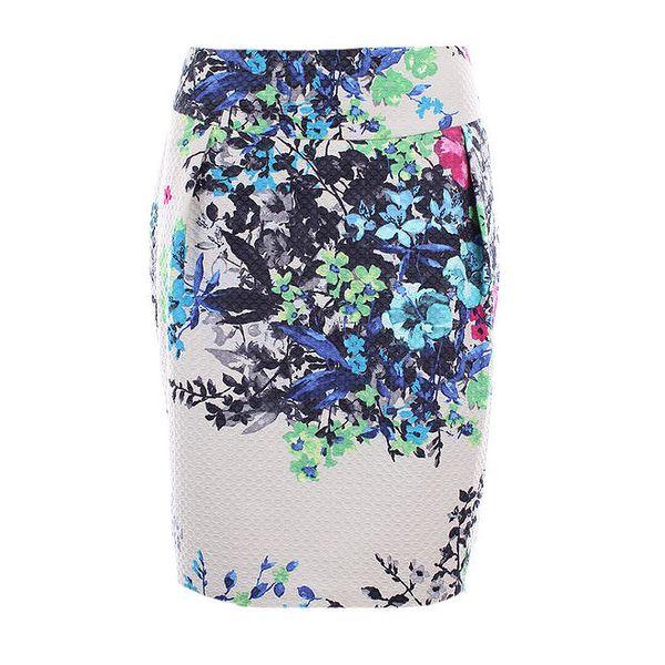 Dámská barevně květovaná sukně Pietro Filipi