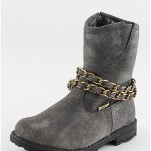 Stylové hřejivé dívčí boty