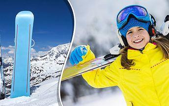 Profi servis lyží, běžek i snowboardů