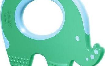 Kroužek k prořezávání zubů slon 3m+