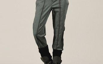 Dámské kalhoty s dekorativní výšivkou Angels Never Die