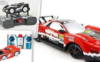 RC modely aut v akci