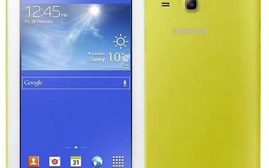 Dotykový tablet Samsung Tab 3 Lite žlutý