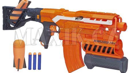 Nerf Demolisher na šipky a mega střely