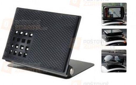 Protiskluzový držák na telefon či navigaci - auto doplněk a poštovné ZDARMA! - 9999902722