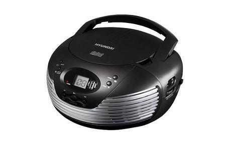 Přenosný CD přehrávač Hyundai TRC 612 AU3 s CD/MP3/USB