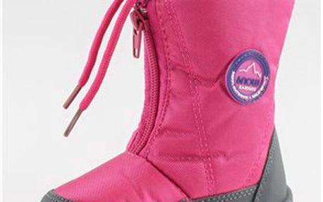 Pohodlné dívčí zimní boty
