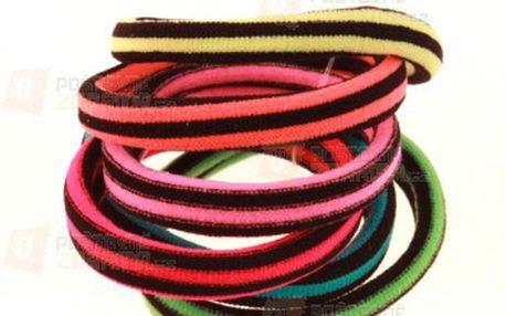 Sada pestrobarevných gumiček - 6 kusů a poštovné ZDARMA s dodáním do 3 dnů! - 9999914677