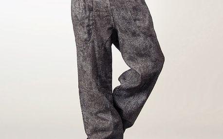 Dámské antracitové kalhoty Angels Never Die
