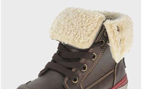 Chlapecké zimní kotníkové boty