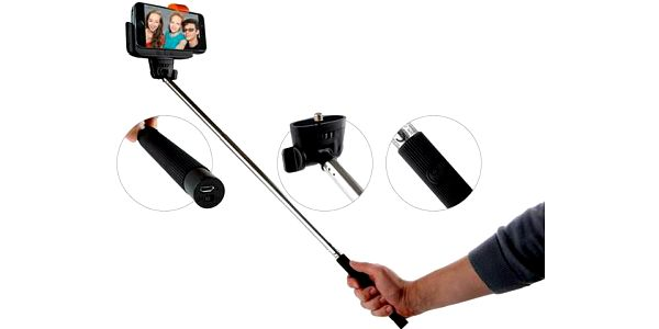 Teleskopická bluetooth selfie tyč od GoGen