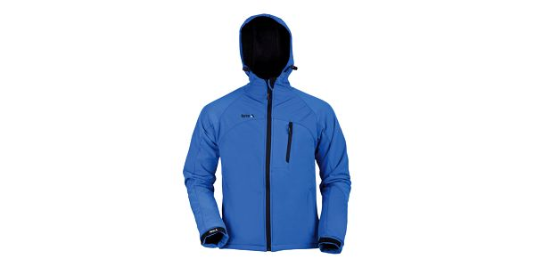 Pánská softshellová bunda Furco - modrá