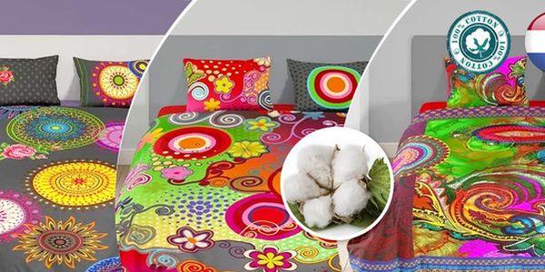 Designové povlečení z bavlny renforcé