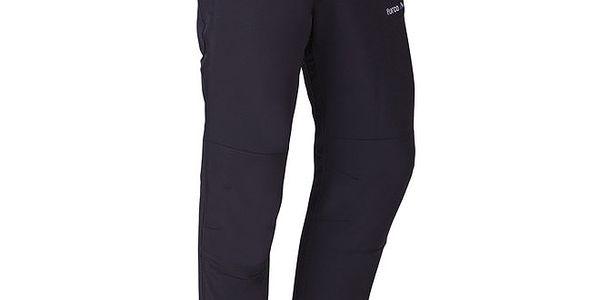 Pánské černé outdoorové kalhoty Furco