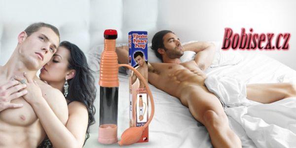 VIBRAČNÍ VAKUOVÁ PUMPA pro muže! Posuňte hranice své fantazie a zpestřete si sexuální život!