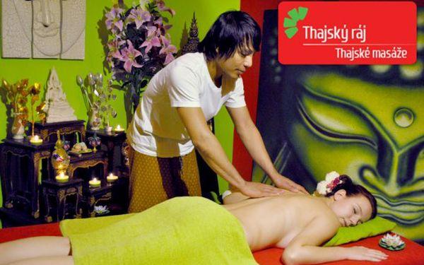 Masáže v luxusních salonech Thajský ráj