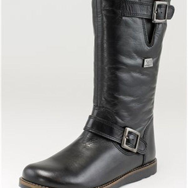 Vysoké teplé dámské boty