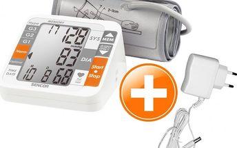 Digitální tlakoměr Sencor SBP 690 s adaptérem