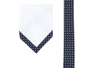Sada kravaty a kapesníčku z kolekce Selected