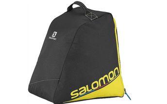 Jednoduchá, lehká taška na boty Salomon Boot Bag Černá/Žlutá 32 L